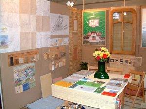 Výstavní stánek zdravé stavební materiály