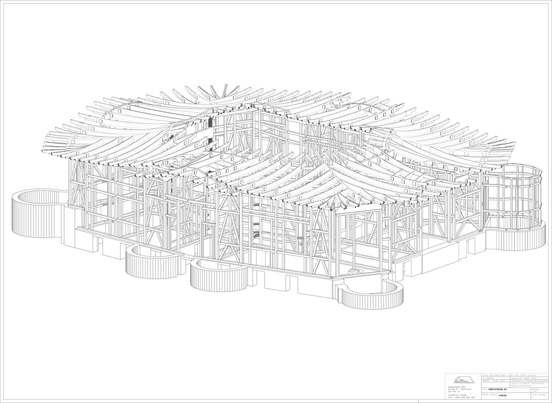 00005 axonometrie konstrukce studio arc for Architektur axonometrie