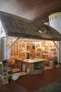 Stánek atelieru celostní architektury ARC