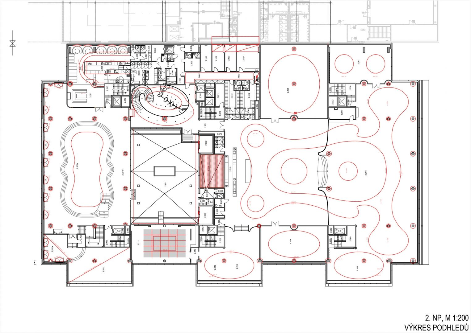 Project Of The Spa Interior With The Restaurant In Prague 4 Studio Arc