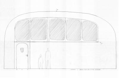 Doplňková okna na vnitřní straně školní třídy. Jsou umístěny mezi vnitřní chodbu a třídu. Vnitřní chodba má ve svojí střeše velké světlíky. Tak mohou i tyto okna ve třídách propouštět do tříd doplňkové rozptýlené denní světlo.